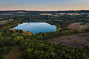Buckland Lake from SE using drone