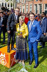 Princess Laurentien and Prince Constantijn attending King's Day Celebrations in Groningen, Netherlands, on April 27, 2018. Photo by Robin Utrecht/ABACAPRESS.COM