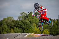 #155 (MECHIELSEN Drew) CAN YessBMX at Round 8 of the 2019 UCI BMX Supercross World Cup in Rock Hill, USA