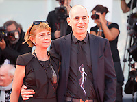 Laura Maoz and Samuel Maoz at the premiere of the film Foxtrot at the 74th Venice Film Festival, Sala Grande on Saturday 2 September 2017, Venice Lido, Italy.
