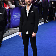 Omer Hazan Arrivers at UK Premiere of Onward at Curzon Street, Mayfair, on 23th February 2020, London, UK.