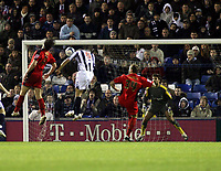 Photo: Mark Stephenson/Sportsbeat Images.<br /> West Bromwich Albion v Coventry City. Coca Cola Championship. 04/12/2007.West Brom'd Roman  Bednar scores