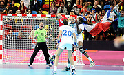 DESCRIZIONE : France Hand Jeux Olympiques Londres <br /> GIOCATORE : LEYNAUD Amandine FRA<br /> SQUADRA : France Femme<br /> EVENTO : FRANCE Hand Jeux Olympiques<br /> GARA : FRANCE NORVEGE<br /> DATA : 28 07 2012<br /> CATEGORIA : Hand Jeux Olympiques<br /> SPORT : Handball<br /> AUTORE : JF Molliere <br /> Galleria : France Hand 2011-2012 Action<br /> Fotonotizia : France Hand Femme Hand Jeux Olympiques Londres