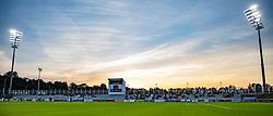Cementtribunen under kampen i 1. Division mellem FC Helsingør og Vendsyssel FF den 18. september 2020 på Helsingør Stadion (Foto: Claus Birch).