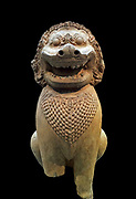 Statue of a Guardian Lion. From either Cambodia or Thailand. Circa 11th-early 12th century. Khmer style of the Baphuon.