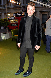 SAM SMITH at the annual Royal Academy of Art Summer Party held at Burlington House, Piccadilly, London on 4th June 2014.
