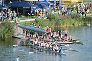 Hazewinkel, BELGIUM.  General View of the boating and boat storage area at the 2015 FISA World Masters Championships, <br /> <br /> Thursday  10/09/2015  [Mandatory Credit. Peter SPURRIER/Intersport Images].