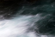 Abstract of the Ohanapecosh River in Mount Rainier National Park in Washington State, USA.
