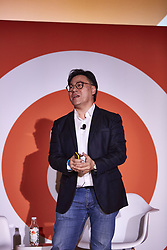 October 2, 2018 - Discover: China, Steven Chang, Corporate Vice President - Tencent, speaks of WeChat and other services, innovations of Tencent. (Credit Image: © Mark J. Sullivan/ZUMA Wire)