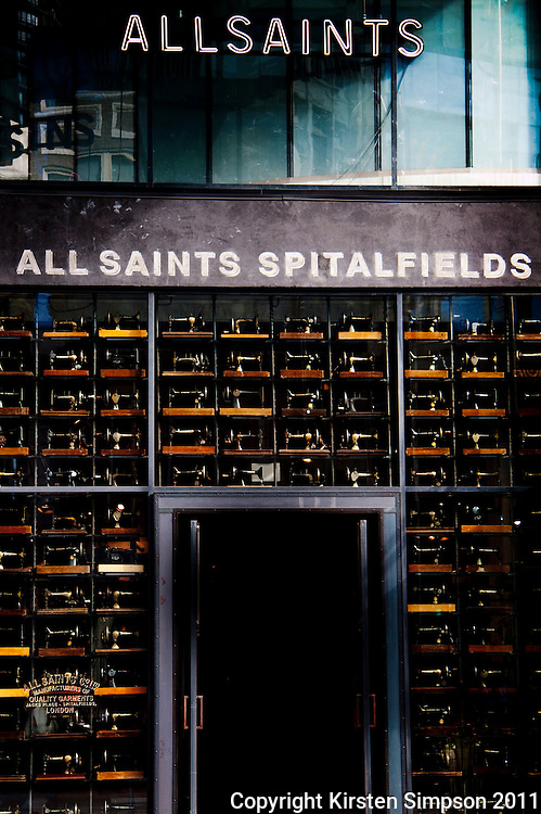 All Saints store in Seattle