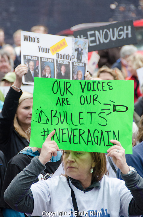 March for OUr LIves Protest in Nashville, Tn March 24, 2018