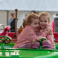 Sisters Lisa Marie and Whitney McDonagh from Ennis at the Treacys West County Winter Wonderland on Saturday afternoon