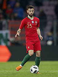 Bruno Fernandes of Portugal during the International friendly match match between Portugal and The Netherlands at Stade de Genève on March 26, 2018 in Geneva, Switzerland