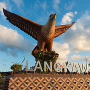 Eagle Sqaure and statue, Langkawi, Malaysia