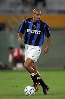 Pisa 14/8/2004 Inter Aek Atene 5-1 Friendly tournament Sky. Sebastian Veron Inter<br /> <br /> Foto Andrea Staccioli Graffiti