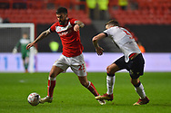 during the The FA Cup fourth round match between Bristol City and Bolton Wanderers at Ashton Gate, Bristol, England on 25 January 2019.