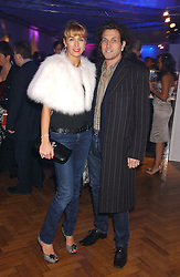 STEPHEN & ASSIA WEBSTER, he is the jeweller at a party to celebrate the centenary of Montblanc held at Lindley Hall, Elverton Street, London SW1 on 9th March 2006.<br /><br />NON EXCLUSIVE - WORLD RIGHTS