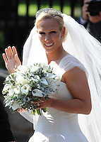 EDINBURGH, UK: The Wedding of Zara Phillips and Mike Tindall at Canongate Kirk, Edinburgh, Scotland, on the 30th July 2011.<br /> PHOTOGRAPH BY JAMES WHATLING