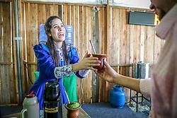 Escola do chimarrão na 38ª Expointer, que ocorrerá entre 29 de agosto e 06 de setembro de 2015 no Parque de Exposições Assis Brasil, em Esteio. FOTO: Pedro Tesch/ Agência Preview