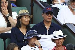 June 9, 2018 - Paris, France - Woody Harrelson et sa femme (Credit Image: © Panoramic via ZUMA Press)