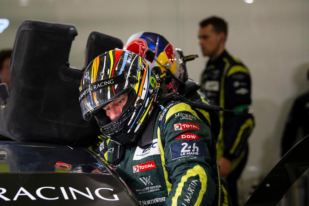 #98 Aston Martin Racing Aston Martin Vantage: Paul Dalla Lana<br /> Thursday 14 June 2018<br /> 24 Hours of Le Mans<br /> 2018 24 Hours of Le Mans<br /> Circuit de la Sarthe  FR<br /> World Copyright: Scott R LePage