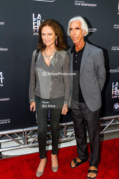 LOS ANGELES, CA - JUNE 10: Jacqueline Bisset attends the opening night premiere of 'Grandma' during the 2015 Los Angeles Film Festival at Regal Cinemas L.A. Live on June 10, 2015. Byline, credit, TV usage, web usage or linkback must read SILVEXPHOTO.COM. Failure to byline correctly will incur double the agreed fee. Tel: +1 714 504 6870.