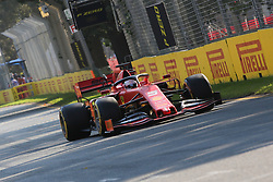 March 16, 2019 - SEBASTIAN VETTEL during qualifying for the 2019 Formula 1 Australian Grand Prix on March 16, 2019 In Melbourne, Australia  (Credit Image: © Christopher Khoury/Australian Press Agency via ZUMA  Wire)