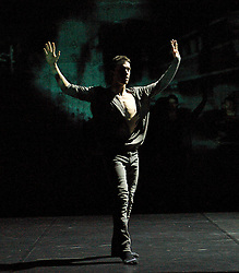 "Balletboyz<br /> ""The Talent""<br /> artistic directors Michael Nunn & William Trevitt <br /> The Arts Depot <br /> Press photocall<br /> 27th January 2011<br /> Balletboyz 10th Anniversary Tour<br /> <br /> ""Void""<br /> <br /> Jesus Sanz Mancera<br /> <br /> <br /> <br /> Photograph by Elliott Franks"