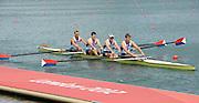 Eton Dorney, Windsor, Great Britain,..2012 London Olympic Regatta, Dorney Lake. Eton Rowing Centre, Berkshire.  Dorney Lake.  ..Men's Fours Medal's AUS M4- Silver Medalist, GBR M4- Gold Medalist and USA M4- Bronze Medalist...12:12:25  Saturday  04/08/2012 [Mandatory Credit: Peter Spurrier/Intersport Images]