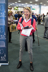© Licensed to London News Pictures . 25/09/2015 . Doncaster , UK . KATIE HOPKINS at the 2015 UKIP Party Conference at Doncaster Racecourse , this morning (Friday 25th September 2015) . Photo credit : Joel Goodman/LNP