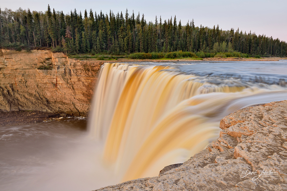 Alexandra Falls, Twin Falls Territorial Park, Northwest Territories, Canada