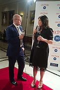 TOBY YOUNG AND KIRSTIE ALLSOPP, The Spectator 180th Anniversary party, at the Churchill Hotel, London, 7 May 2008.  *** Local Caption *** -DO NOT ARCHIVE-© Copyright Photograph by Dafydd Jones. 248 Clapham Rd. London SW9 0PZ. Tel 0207 820 0771. www.dafjones.com.