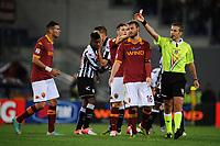 Espulsione di Tachtsidis (Roma)<br /> 28/10/2012 Roma, Stadio Olimpico<br /> Campionato di calcio Serie A 2012/2013<br /> Roma vs Udinese<br /> Foto Antonietta Baldassarre Insidefoto