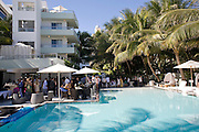 Collectors Brunch, Sagamore Hotel Miami Beach. Art Basel Miami Beach. 6 December 2008 *** Local Caption *** -DO NOT ARCHIVE -Copyright Photograph by Dafydd Jones. 248 Clapham Rd. London SW9 0PZ. Tel 0207 820 0771. www.dafjones.com