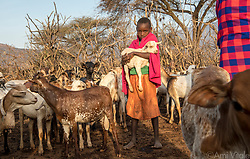 "For pastoralists like the #Samburu, more grass means more food for their cattle—one reason indigenous communities have begun relating to elephants, animals long feared, in a new way. The loss of elephants has a ripple effect on other animals and the people co existing with them. Elephants are the ecosystem's ""engineers"" who feed on low brush and bulldoze small trees, promoting growth of grasses, which in turn attract bulk grazers like buffalo, endangered Grevy's zebras, eland, and oryx, themselves prey for carnivores: lions, cheetahs, wild dogs, leopards.<br /> <br /> The Samburu are the force behind northern Kenya's Reteti Elephant Sanctuary (@r.e.s.c.u.e), the first ever community-owned and run elephant sanctuary in Africa. The sanctuary provides a safe place for injured elephants to heal and later, be returned back to the wild. You can support this incredible place and the people who protect wildlife. Make a $10 contribution in support of Reteti for a chance to win a trip to Kenya, see Dave Matthews in concert and take home Dave's guitar with @prizeo (Link in profile). Not only will you be helping care for orphaned baby elephants and strengthening community ties, you'll also have a chance to win a life-changing trip to see the sanctuary in person. The first $10,000 in funds raised will be generously matched by Elephant Gems (@elephantgems).<br /> <br /> Reteti operates in partnership with Conservation International (@conservationorg) who provide critical operational support and work to scale the Reteti community-centered model to create even bigger, lasting impacts worldwide. <br /> <br /> Photo by @amivitale."