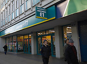 Poundland £1 discount shop, Ipswich
