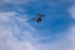 THEMENBILD - eine DJI Inspire 2 quadcopter Drohne. Sölden am Donnerstag den 09.07.2020 // a DJI Inspire 2 quadcopter drone. Soelden, Austria on Thursday, July 9th, 2020. EXPA Pictures © 2020, PhotoCredit: EXPA/ Johann Groder