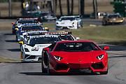 October 3-5, 2013. Lamborghini Super Trofeo - Virginia International Raceway. Safety car.