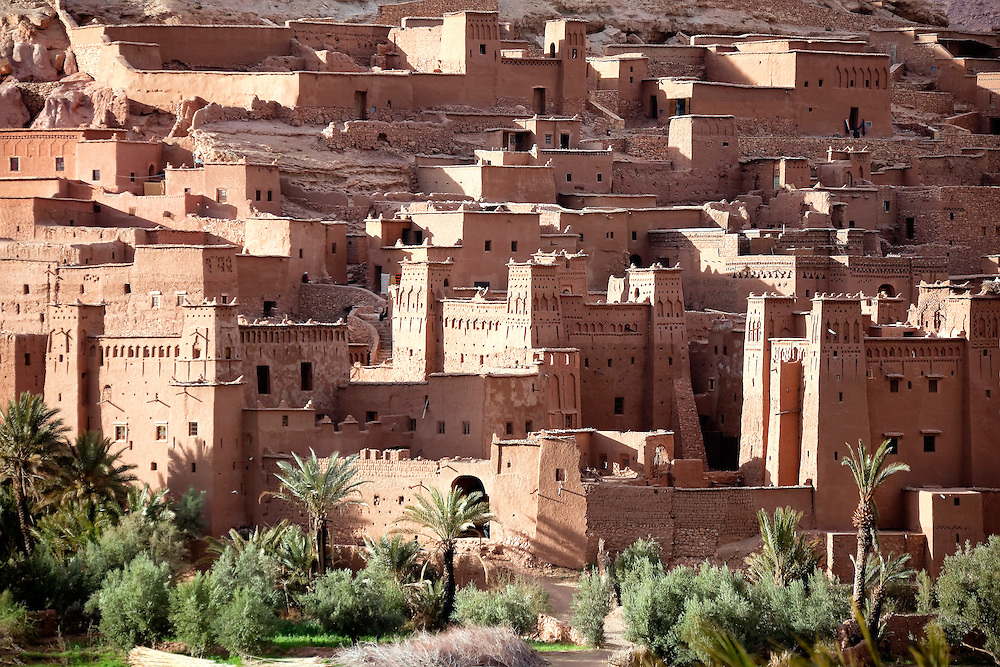 UNESCO World heritage site ksar and kasbah Ait Ben Haddou, Morocco.
