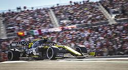 November 3, 2019, Austin, United States of America: Motorsports: FIA Formula One World Championship 2019, Grand Prix of United States, ..#27 Nico Hulkenberg (GER, Renault F1 Team) (Credit Image: © Hoch Zwei via ZUMA Wire)