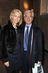 SIR RONALD & LADY COHEN at a party to celebrate the launch of Simon Sebag-Montefiore's new book - 'Jerusalem: The Biography' held at Asprey, 167 New Bond Street, London on 26th January 2011.