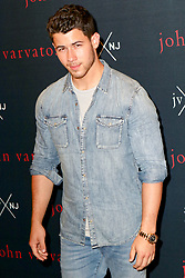 Nick Jonas is seen attending the launch for his new fragrance JVxNJ at Mission NYC in New York City. NON-EXCLUSIVE August 8, 2018. 08 Aug 2018 Pictured: Nick Jonas. Photo credit: Nancy Rivera/Bauergriffin.com/MEGA TheMegaAgency.com +1 888 505 6342
