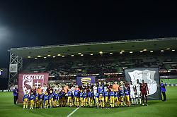 October 31, 2018 - Metz, France - protocole de debut de match (Credit Image: © Panoramic via ZUMA Press)