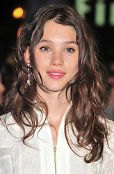 "© licensed to London News Pictures. London, UK  12/05/11 Astrid Berges-Frisbey attends the UK premiere of Pirates of the Carribean 4 ""on Stranger Tides"" at Londons Westfield . Please see special instructions for usage rates. Photo credit should read AlanRoxborough/LNP"