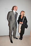 LORD EDWARD SPENCER-CHURCHILL; IWONA BLAZWICK, George Condo: Mental States. Hayward Gallery. Southbank Rd. London. 17 October 2011. <br /> <br />  , -DO NOT ARCHIVE-© Copyright Photograph by Dafydd Jones. 248 Clapham Rd. London SW9 0PZ. Tel 0207 820 0771. www.dafjones.com.