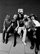 Ian  Gillan and Deep Purple photosession London 1980