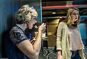 Royal Caribbean, Harmony of the Seas, tasting food on the lift
