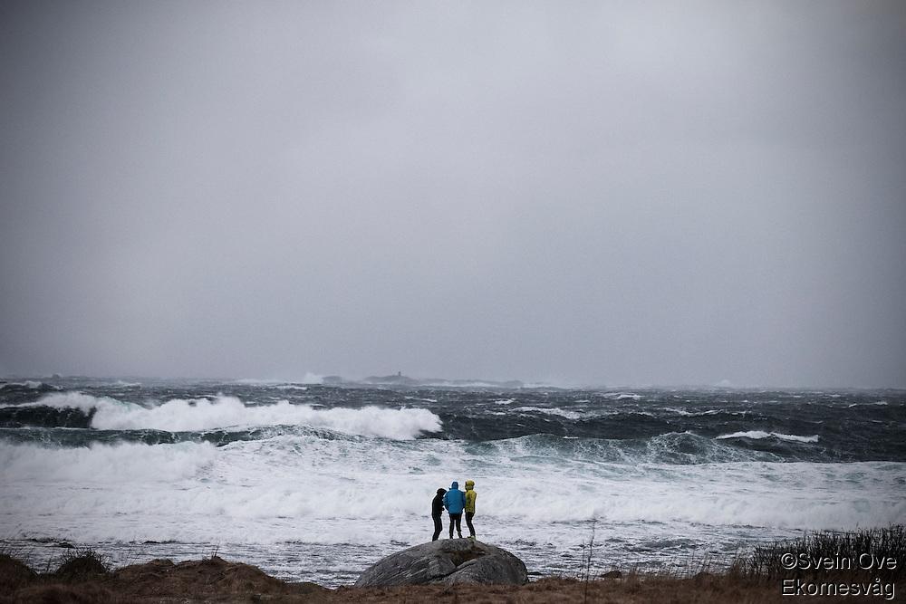 Det mektige havet.<br /> Foto: Svein Ove Ekornesvåg