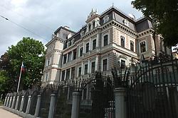 May 25, 2019 - Riga, Latvia, Latvia - Latvia, Riga, Russian Embassy (Credit Image: © Russian Look via ZUMA Wire)