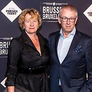 NLD/Amsterdam/20170119 - Premiere Brussel, Eelco Blok, voorzitter Raad van Bestuur en CEO van KPN en partner